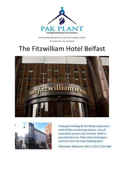 Fitzwilliam Hotel Belfast 1