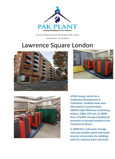 Lawrence Square London Res 1